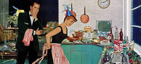 Почистване на апартамент след парти или гости